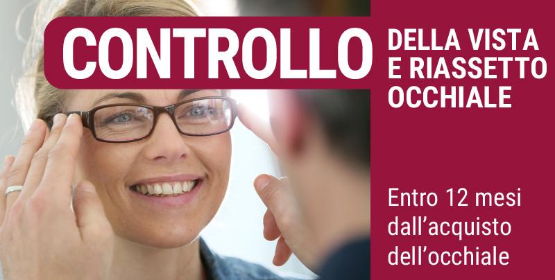 Controllo della vista e riassetto occhiale, Centri Ottici Associati, Centro Ottico Crevalcore